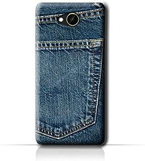 AMC Design HTC Desire 10 Compact Jeans Pocket Pattern Case - Blue