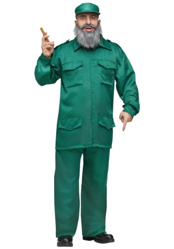 Adult Fidel Fancy Dress Costume Standard