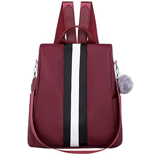 Dorical Rucksack für Damen Frauen Oxford Stilvolle Rucksack wasserdichte Schulrucksack Anti-Diebstahl Schultertaschen, Backpack Umhängetasche Tasche Handtasche Ausverkauf(B)