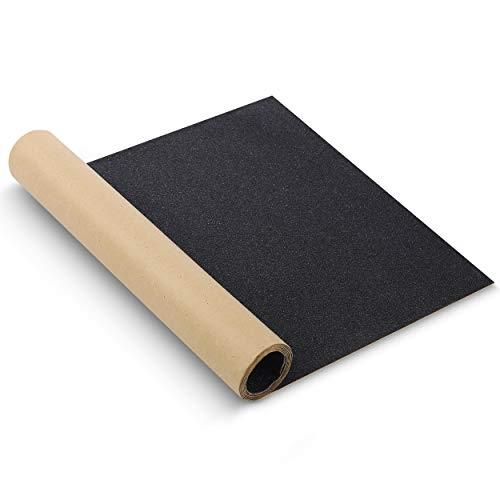 """Mr. Pen- Grip Tape, 10"""" x 36"""", Skateboard Grip Tape, Non Slip Tape, Scooter Grips, Longboard Grip Tape, Griptape, Grip Tape Skateboard, Skateboard Grip Tape Sheet, Grip Tape for Skateboards, Black"""