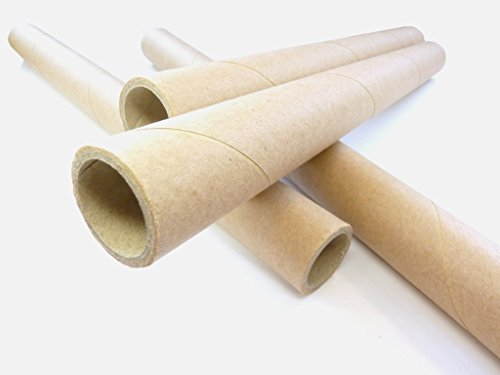 15,5mm Papphülsen, cardboard, paper tubes, spiralgewickelt, 15,5 x 19,1 x 219,0mm, verschiedene Mengen lieferbar (10)