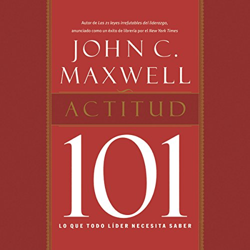 Actitud 101 [Attitude 101] audiobook cover art