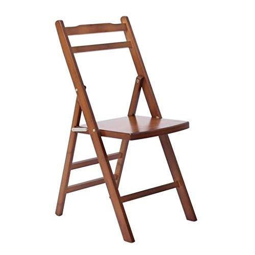 SCDMY Stuhl - Klappstühle Kleiner Klappstuhl Kleine Bank Terrasse Ausgangsbeiläufiger Sessel Bambusholz Hocker Hocker Füße Freie Montag