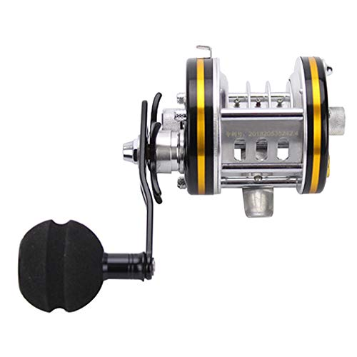 MagiDeal Carrete de Hielo de Invierno para Sea Boat Big Game Fishing...