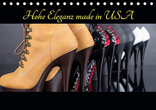 Hohe Eleganz made in USA (Tischkalender 2021 DIN A5 quer)