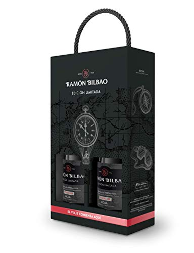 Ramón Bilbao Edición Limitada Vino Tinto 100% Tempranillo D.O.ca. Rioja - Estuche 2 botellas 750 ml