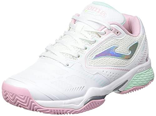 Joma Set Lady Zapatos de Tenis Mujer Blanco