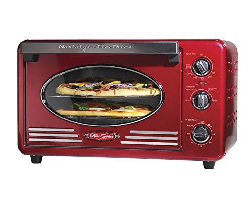 Four à pizza électrique : Nostalgia RTOV2RR