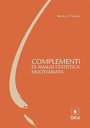 Complementi di analisi statistica multivariata
