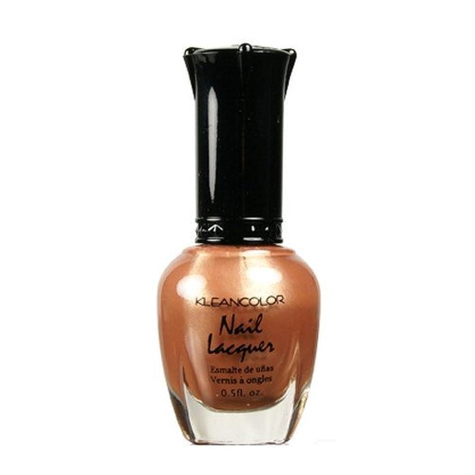 スイパートナー不十分(3 Pack) KLEANCOLOR Nail Lacquer 1 - Chocolate Brown (並行輸入品)