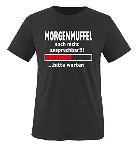 Funshirts-Company Morgenmuffel .Bitte Entretenir-t-Shirt pour Enfant Taille de 86 à 164 cm (différents Coloris)