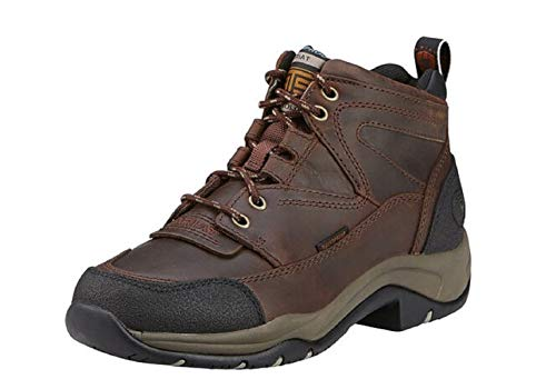 Ariat Women's Terrain Waterproof Hiking Boot 0, Copper, 8