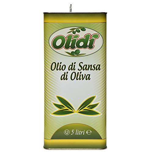 OLIDì Olio di Sansa di Olive 4 x 5 LT
