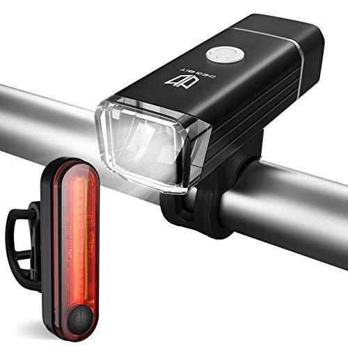 Degbit Rechargeable Mountain Bike Light