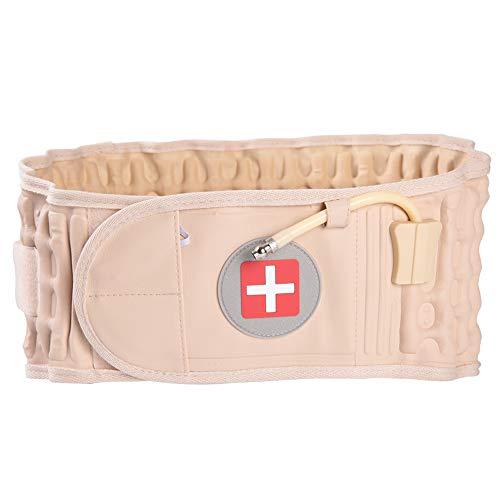 Cintura Gonfiabile - Cintura Schiena Lombare Gonfiabile Design in Velcro Decompressione Torna Cintura per alleviare il dolore alla schiena