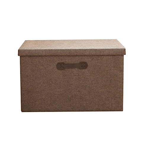 Hanpiyigzwl Contenitori Plastica, Scatola di immagazzinaggio di grande capacità, armadio in tessuto, scatola di immagazzinaggio pieghevole, scatola di stoccaggio, vestiti, giocattoli, articoli vari, s