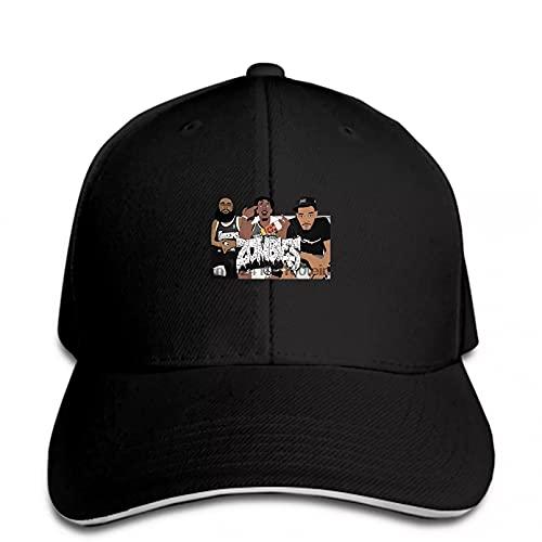 MWLSW Klassisch Baseball Cap Zombies Hip Hop Band für Herren Hysteresenhut Peaked Outdoor-Sporthut-Geschenke für Hip-Hop-Liebhaber
