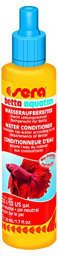 Sera 03035 Betta Aquatan 50 ml – Purificador de Agua del Grifo...