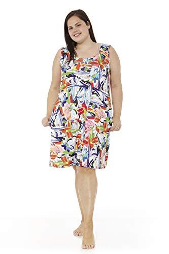 mabel intima Vestido Talla Grande Verano Tallas Grandes Mujer Vestidos de Tirantes Vestido Talla 50