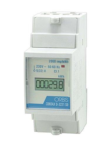 Orbis Contax D-3221 SO medidor Digital de Consumo energético Contador,...