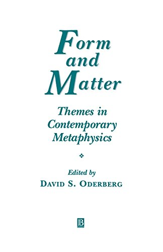 Form and Matter: Themes in Contemporary Metaphysics (Ratio Special Issues)