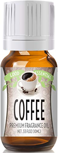Coffee Scented Oil by Good Essential (Premium Grade Fragrance Oil) - Perfect for Aromatherapy, Soaps, Candles, Slime, Lotions, and More!