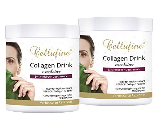 Cellufine® EXCELSIOR VERISOL® Collagen Lift Drink mit Hyaluronsäure 2x300g