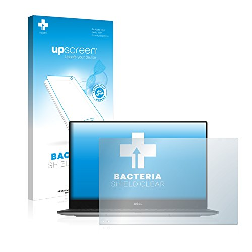 upscreen Antibakterielle Schutzfolie kompatibel mit Dell XPS 13 9360 Non-Touch klare Bildschirmschutz-Folie