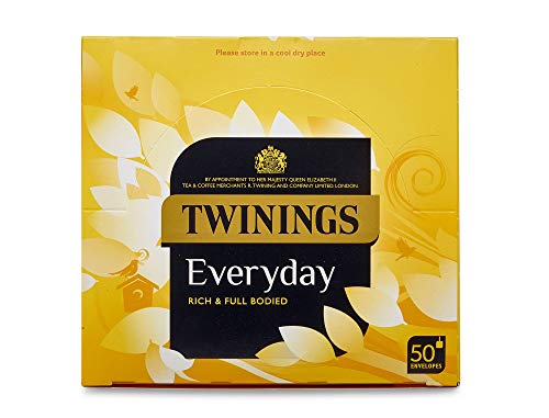 Twinings Everyday Enveloped Tea Bags - Pack Size = 1x50