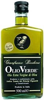 Gianfranco Becchina Olio Verde Extra Virgin Olive Oil Harvest 2015 First Pressing - 16.9 fl. oz