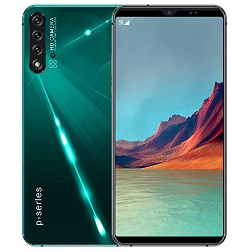 NZQLJT Smartphone Desbloqueado, 6.1'Teléfono Celular Desbloqueado Android 9.1, Detección De Huellas Dactilares, 8GB + 128B ROM, 13MP Camer Delantero, 4G Dual SIMULACIÓN