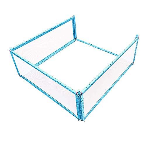 MUMA Bettgitter Bettgitter für Kinderbetten Tragbare und stabile Bettgitter Kids Safety Kids Vertical Lifting Robust und Solid-3-Gesichter (Color : T3, Size : 150 * 190cm)