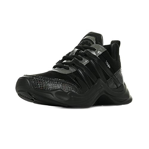 Buffalo Damen Sneaker Low CAVI schwarz 37