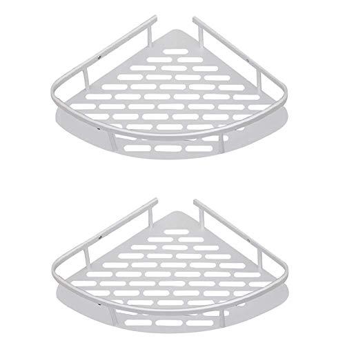 DIHAO Estante de baño Triangle er Caddy Organizador Aluminio sin Taladro Montaje en Pared Soporte para cestas de Cocina