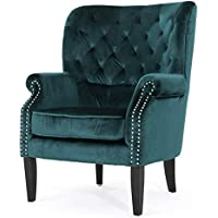 Christopher Knight Home Tomlin Velvet Club Chair