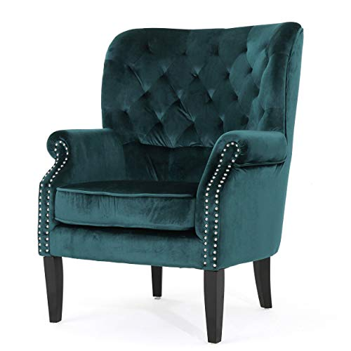 Christopher Knight Home Tomlin Velvet Club Chair Only $183.99 (Retail $286.99)