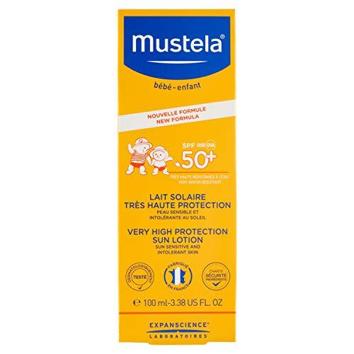 Mustela Lait Solaire Très Haute Protection SPF50+ 100 ml