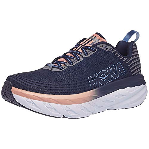 HOKA ONE ONE Bondi 6 Mood Indigo/Dusty Pink 11