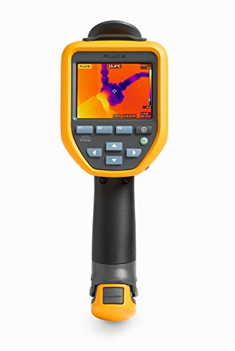 Fluke TIS45 30HZ Thermal Infrared Camera with IR-Fusion, Picture-in-Picture, Voice Annotations, 3.5