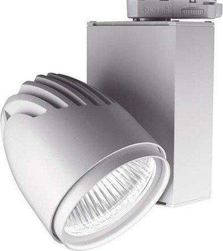 LTS Licht&Leuchten LED-Anbaustrahler BIXX 103.40.35.2 SI Silber 4000K 35° Bixx 100 Downlight/Strahler/Flutlicht 4043544375155