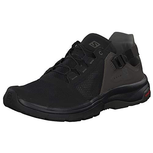 Salomon Men's Techamphibian 4 Athletic Water Shoes, Black/Beluga/Castor Gray, 13