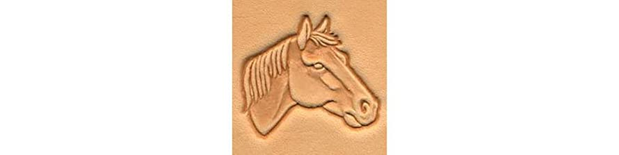 Tandy Leather Horse Head Craftool? 3-D Stamp (Right) 88342-00