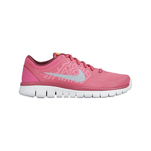 Nike 724992-601:Flex Run 2015 (GS) Black/Pink Training Running Unisex Youth Size (Boy/Girl/Men 7 = Women 8.5)