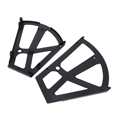 Bisagras del gabinete de zapatos, Zapatero elegante elegante y flexible del diseño del ABS, para el dormitorio(black)