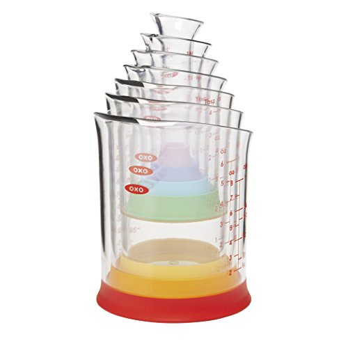 OXO Good Grips 7-Piece Nesting Measuring Beaker Set