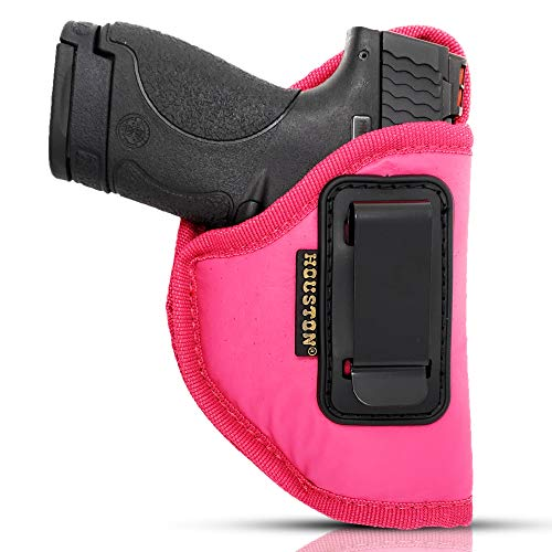 IWB Pink Gun Holster by Houston - ECO Leather   Metal Clip fits...