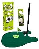 MIJOMA Toiletten-Golf Set, 6-teilig, Golfschläger, Circa 62 cm