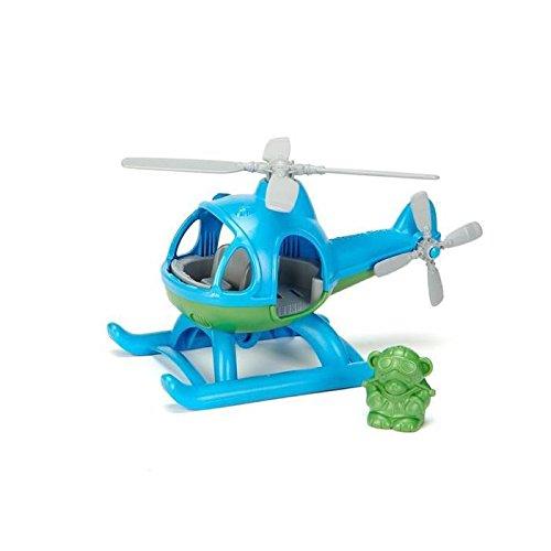 L'hélicoptere green toys- bleu