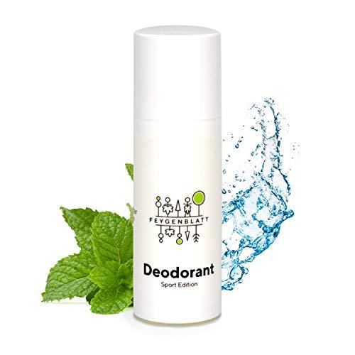 Feygenblatt Deocreme Fresh- Deocreme ohne Aluminium - Naturkosmetik Deodorant mit ätherischen Ölen - Deo Herren - Deo Damen - Natural Antitranspirant
