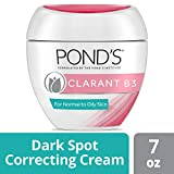 Pond's Clarant B3 Antidark Moisturizing Cream, For Normal To Oily Skin, 7 OZ Jars (Pack Of 2) by Pond's